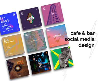 Cafe & Bar Social Media Design | Mekan Sestra