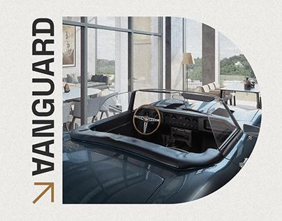 Vanguard Prague — UX/UI redesign