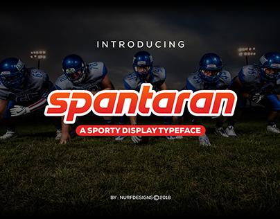 SPANTARAN    A Sporty Display Typeface