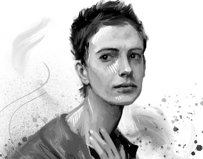 Strong female characters portrait