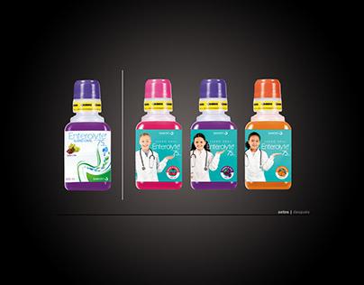 Enterolyte   Propuesta ReDiseño de Etiqueta Suero Oral