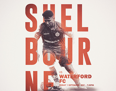 Shelbourne FC Promotional Match Posters