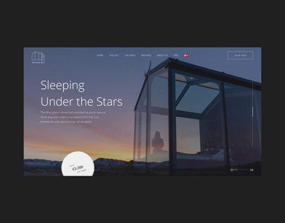The Glass Huts Website