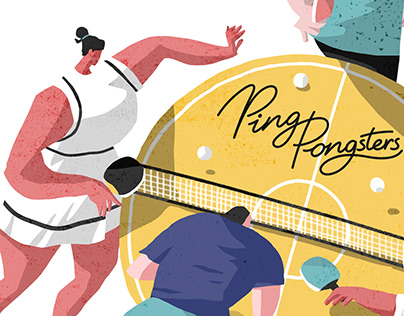 Ping-Pong party poster