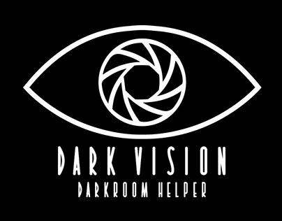Dark Vision Photo Developer App UI