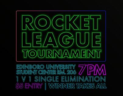 Rocket League Motion Poster