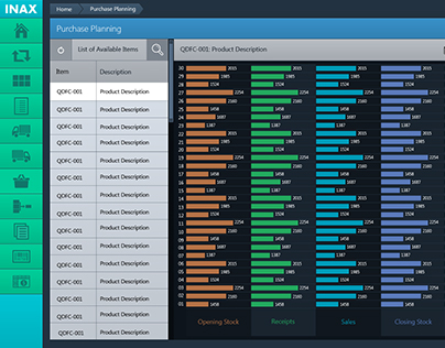 Inventory Desktop Application - 2013