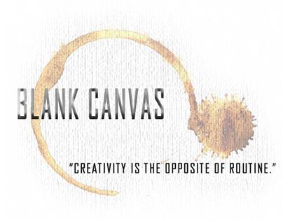 Blank Canvas Coffee Shop