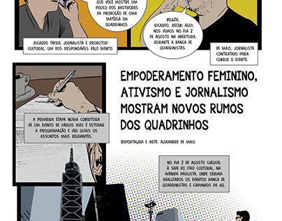 Caminhos das HQs - Itaú Cultural