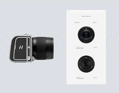 Hasselblad- Interactive Design
