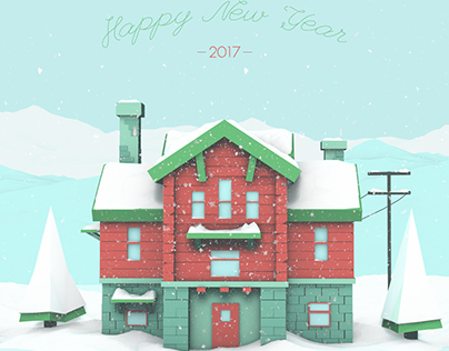 Happy New Year and Merry Christmas, Behance!