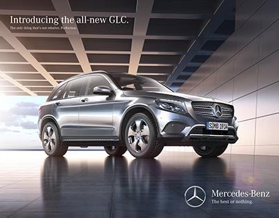 Mercedes-Benz GLC full CGI scene