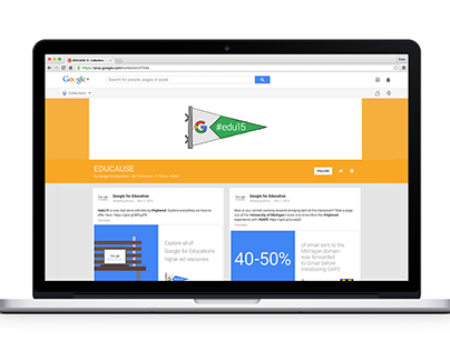 Google for Education at EDUCAUSE 2015