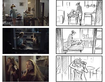 Film vs storyboard