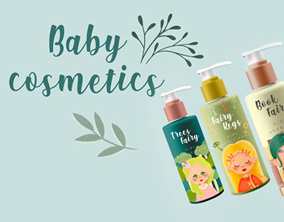CHARACTERS for baby cosmetics