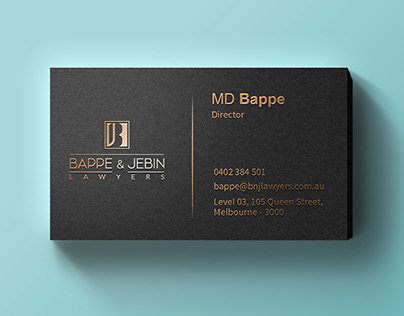 B&J Business Card