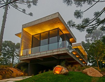 Araucaria House in Brazil by Welter Empreendimentos