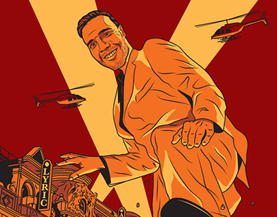 Time Out Magazine Gary Barlow Illustration