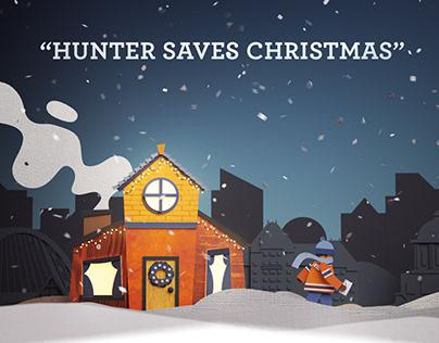 Hunter Saves Christmas