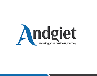 Andgiet consulting logo design