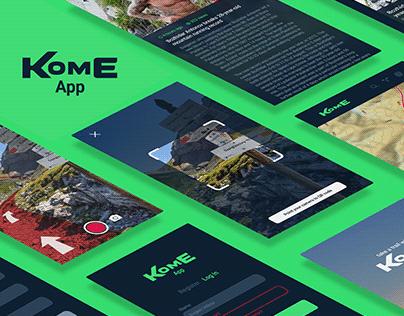 KomE App - AR Concept Case Study