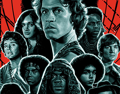 The Warriors (officially licensed screen print)