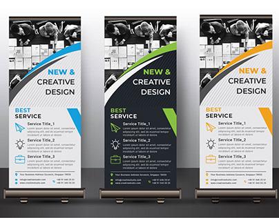 Business Roll Up Banner Design