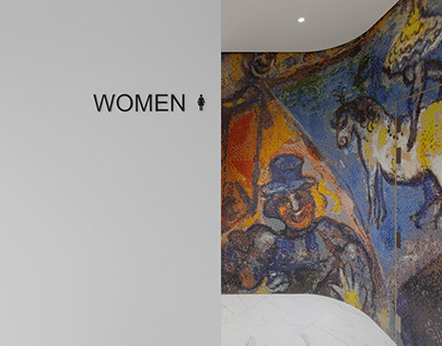 Chagall Business Lounge, architectural photography