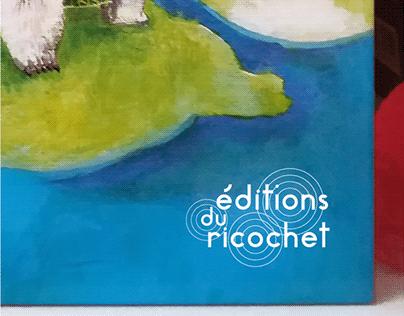 LOGO/ Éditions du ricochet