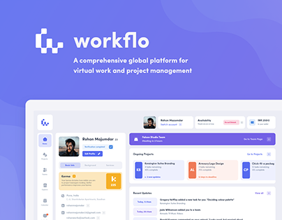 Workflo: Online collaboration and project management
