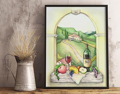 Painting | Tuscany