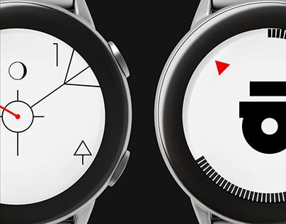 Samsung GearWatchface Design
