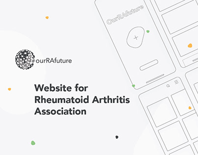 UX/UI Website for Rheumatoid Arthritis Association