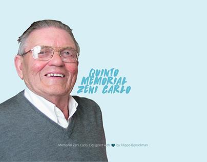 Memorial Zeni Carlo - A un nonno speciale