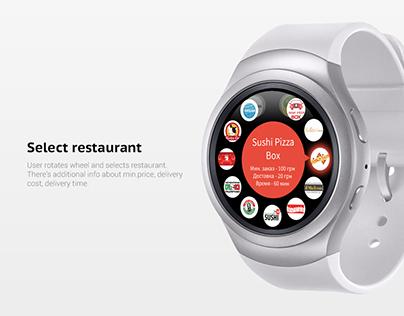 Eda.ua app for Samsung Gear S2