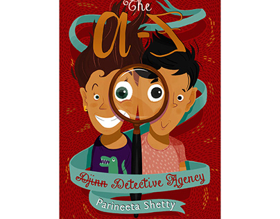 The A-Z Detective Agency (Book Illustration)