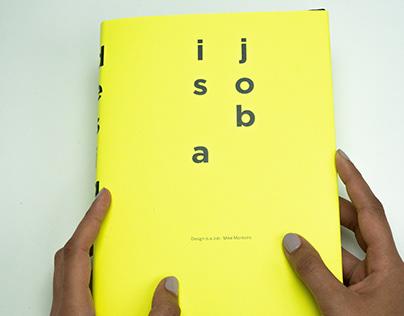 Design is a Job - Book Design