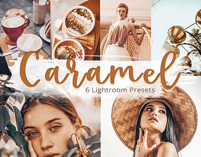 Caramel Collection Lightroom Mobile Presets