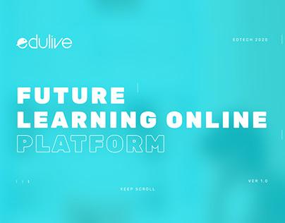Edulive Future learning online platform