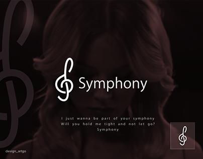 letter s logo idea, symphony