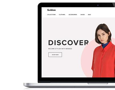 E-commerce, web-site