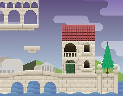 Art in Game - Tiled Platformer