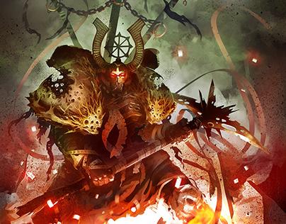 Chaos Aspirant Champion - Warhammer 40K - FanArt