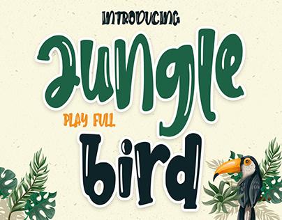 PLAY FULL FONT | JUNGLE BIRD