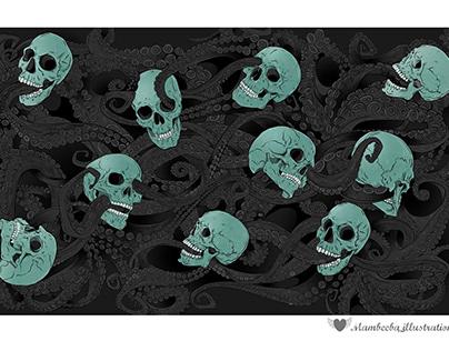 Octopus (Fabric Pattern)