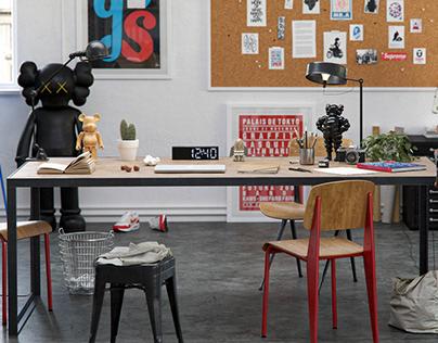 Artist office - CGI