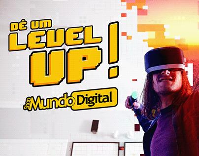 Dê um Level Up! - Shop Mundo Digital