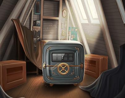 Game Art- Daily Bonus Screen