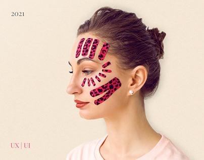Лендинг для мастер-класса косметолога. Красота здоровье