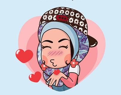 LINE Sticker - I Love Batik